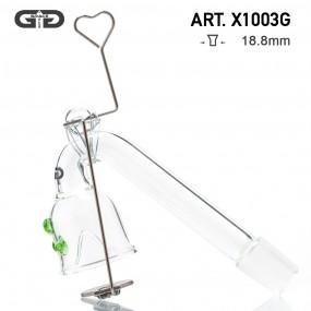 Адаптер Grace Glass Oil Green 18.8 мм