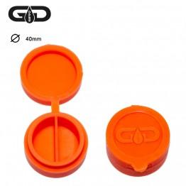Силиконовый контейнер Grace Glass Orange