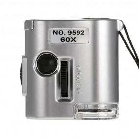 Карманный микроскоп 60x