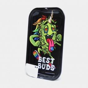 Поднос Best Buds – LSD Large Metal Rolling Tray