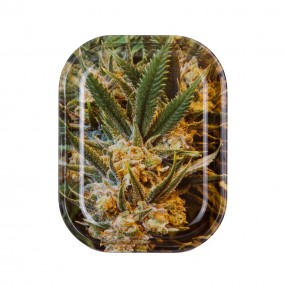 Подноc Weed Metal Rolling 18 x 14 см