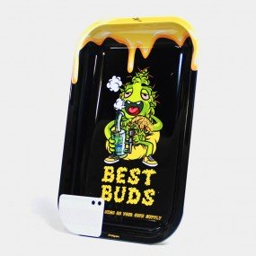 Поднос Best Buds – Dab Large Metal Rolling Tray