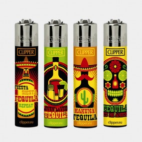 Зажигалка Clipper™ Tequila time lighters (24pcs/display)
