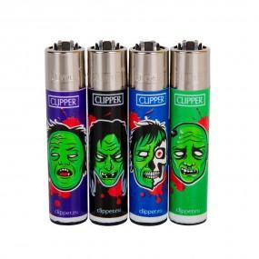 Зажигалка Clipper™ Horror Zombies