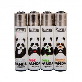 Зажигалка Clipper™ Killer pandas lighters (24pcs/display)